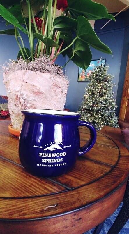 Pinewood Springs Mug Cobalt Blue
