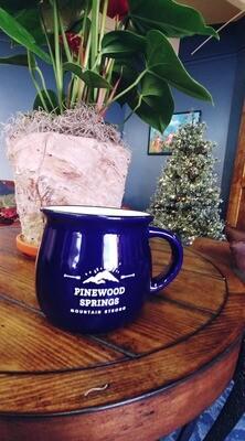 Pinewood Springs Mug Cobalt Blue