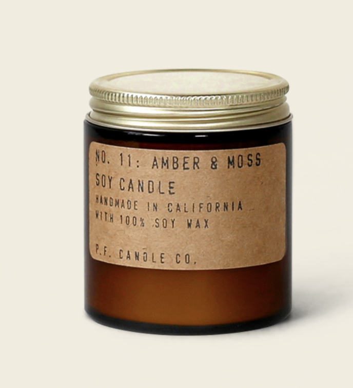 Amber & Moss 3.5oz Candle