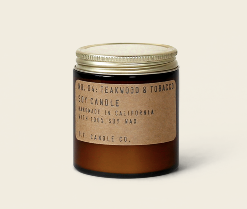 Teakwood & Tobacco 3.5oz Candle
