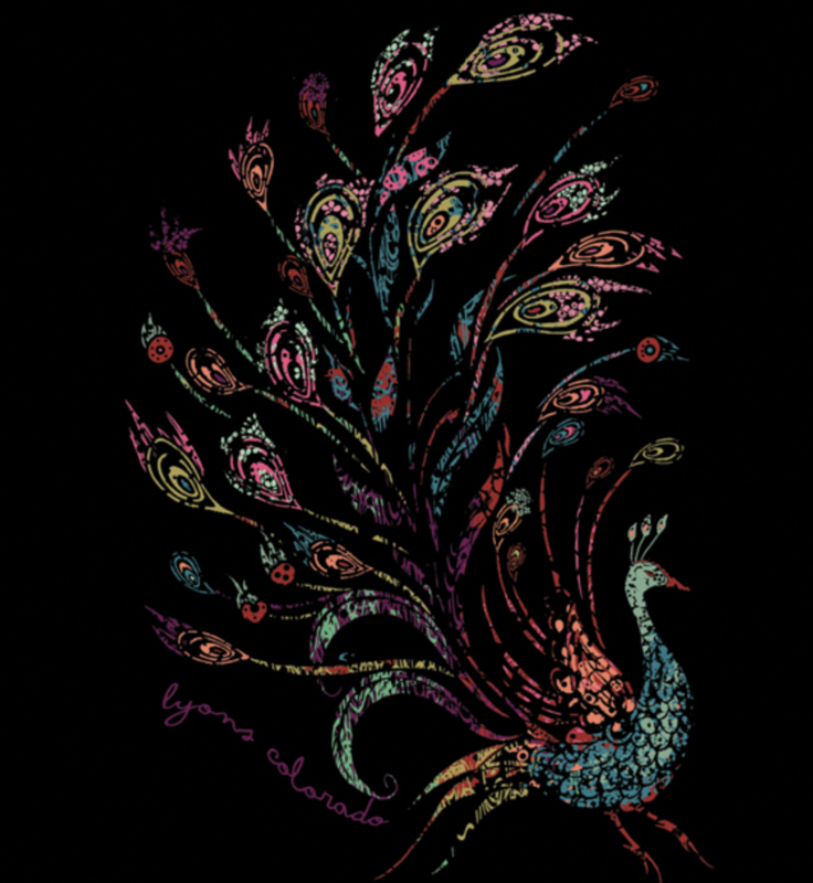 Sticker - Peacock