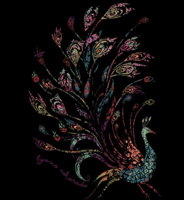 Sticker - Peacock