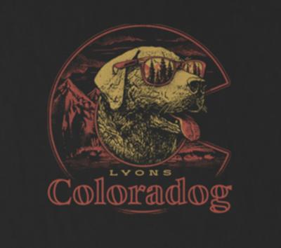 Sticker - Coloradog