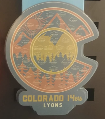 Magnet - Colorado 14ers