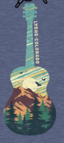 Sticker - Mountain Guitar