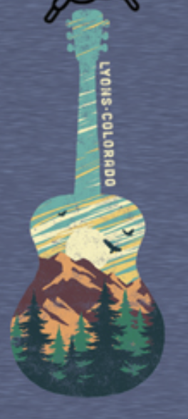 Sticker - Mountain Guitar