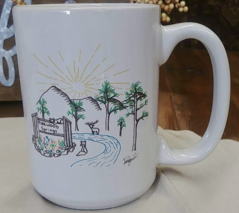 Pinewood Springs Mug White