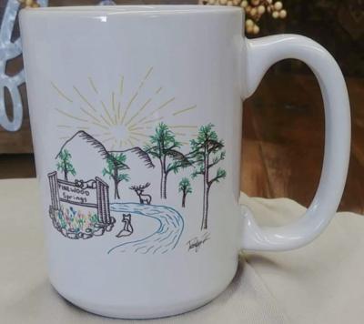Pinewood Springs Mug White