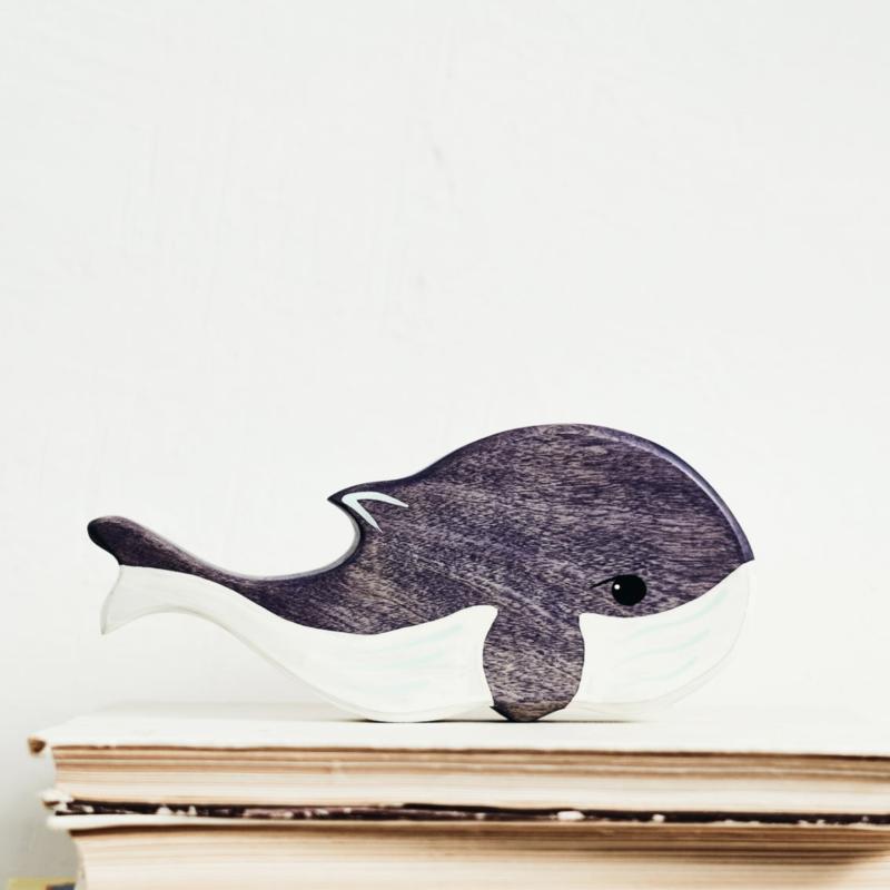 Shy whale