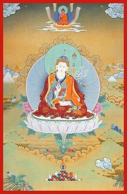 グル・パドマサンバヴァと阿弥陀仏