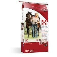 Purina Equine Senior Complete Feed