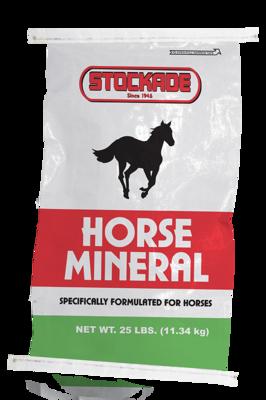 Stockade Horse Mineral 25# Bag
