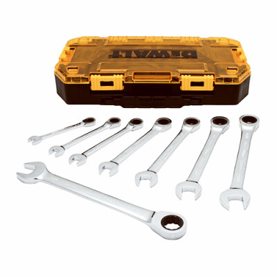 Dewalt Ratchet Wrench 8pc