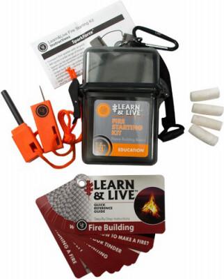 Fire Starting Learn Kit