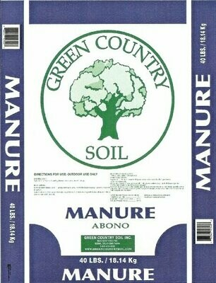Cow Compost Manure | 40# Bag