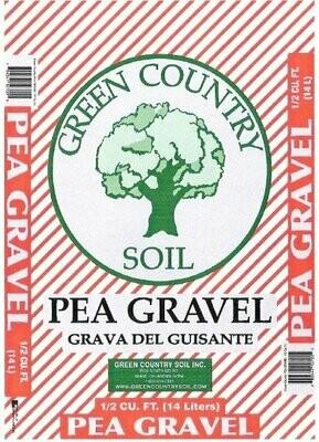 Pea Gravel | .5 CU FT Bag