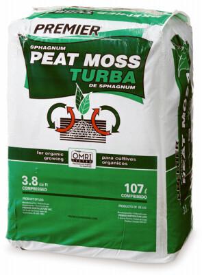 Sphagnum Peat Moss Bale | 3.8 CU FT