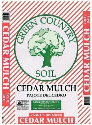 Cedar Mulch | 2 CU FT Bag