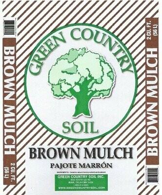 Cocoa Brown Mulch | 2 CU FT Bag