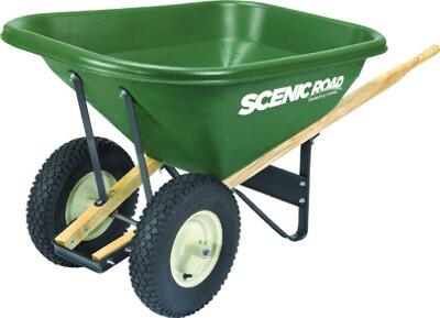 Wheelbarrow (Heavy Duty) | 8 CU FT - Green