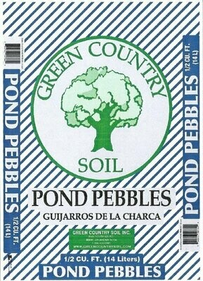 Pond Pebbles | 0.5 CU FT Bag