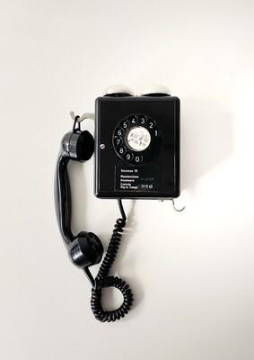 Telefono Weidmann in bachelite 1950