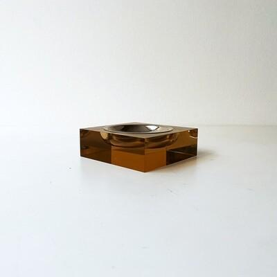 Vintage polycarbonate ashtray