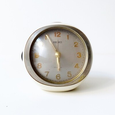 Space age Seiko alarm clock
