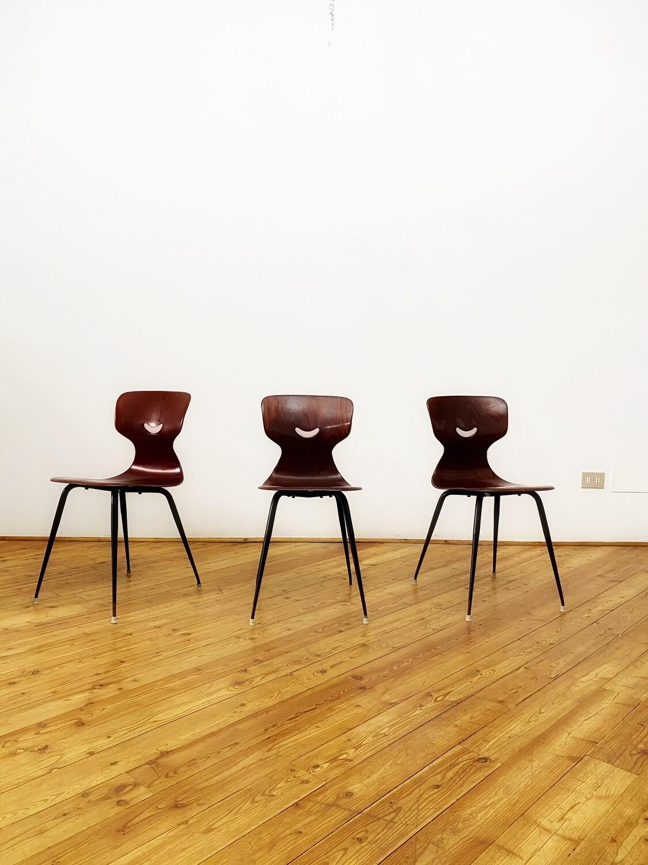 Set di 3 sedie Pagholz