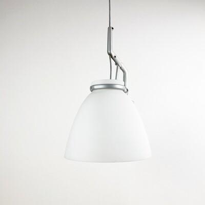 GlassGlass pendant lamp by Luceplan 1998
