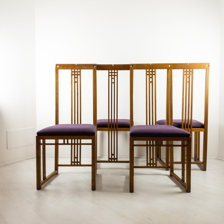 Set di 4 Sedie New Gallery di Giorgetti