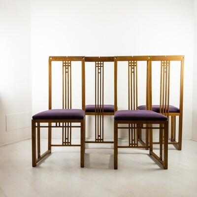 Set 4 Sedie New Gallery di Giorgetti