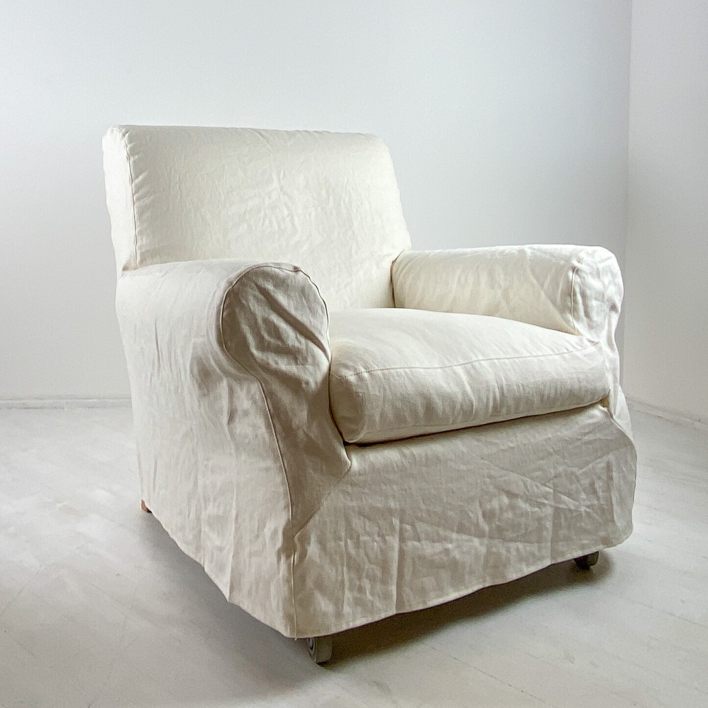 Nonna Maria Armchair and Pouf by Flexform
