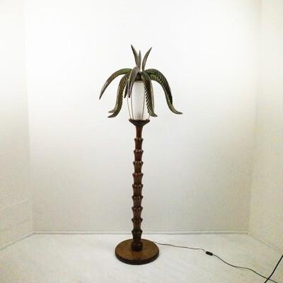 Lampada Palma in legno di Aldo Tura