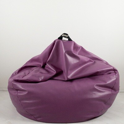 Eco-leather pouf by Wow Italy