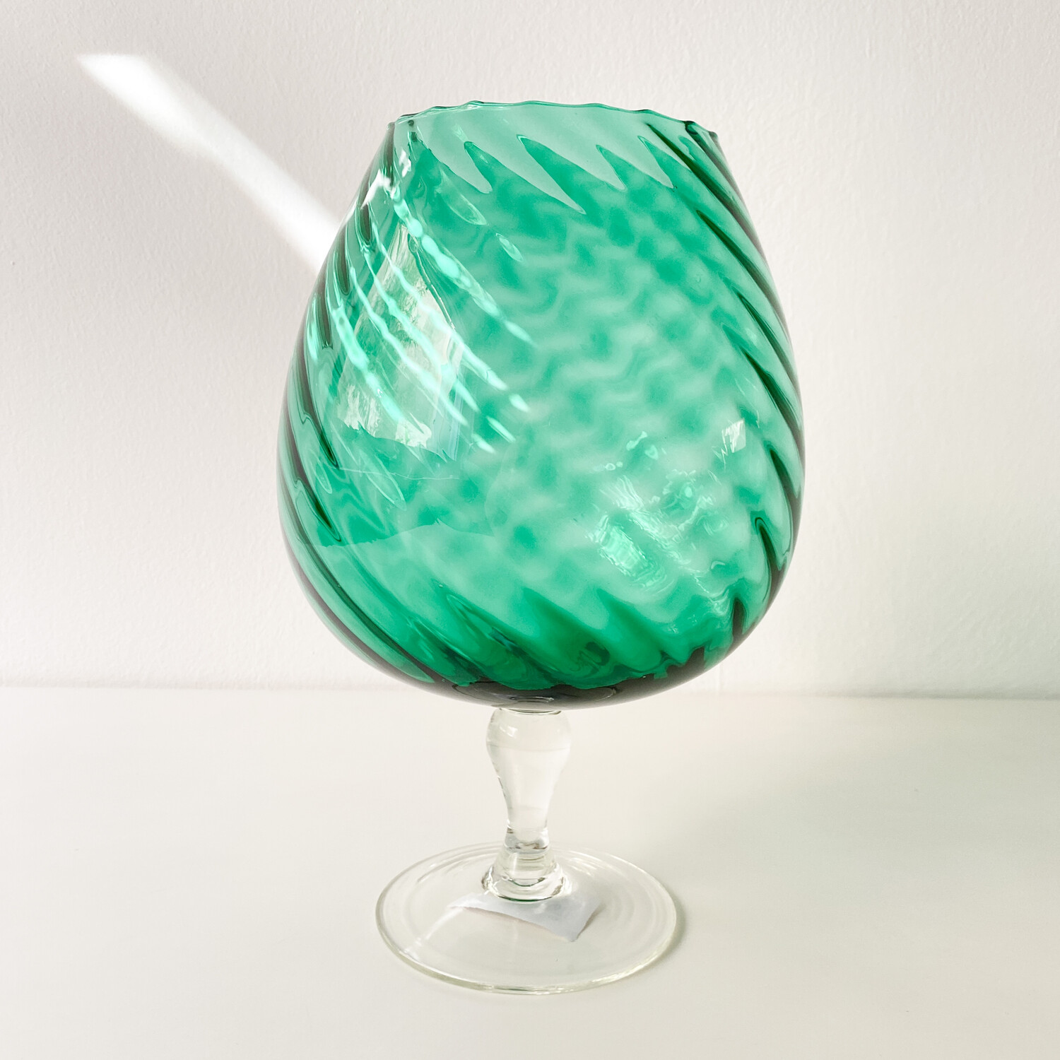 Emerald goblet from the 1960s
