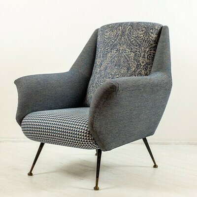 Pair of armchairs in the style of Marco Zanuso 1950s
