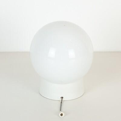 Applique a sfera Anni '50 in ceramica