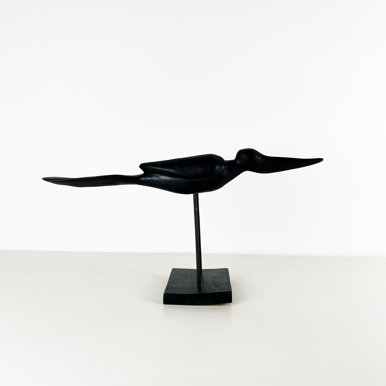 Bird wood carving