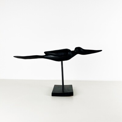 Scultura in legno di Uccello