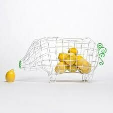 Seletti Fantastic Domestic Fruit Basket