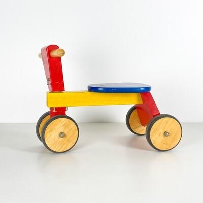 Triciclo in Legno Multicolor