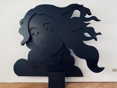 Venus face sculpture by Botticelli