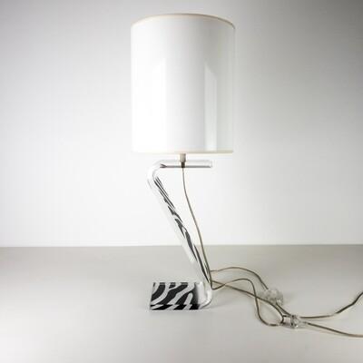 Z Zebra Table Lamp
