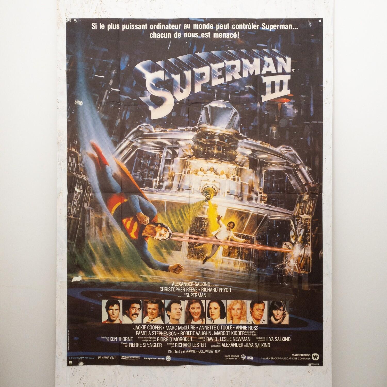 Film Poster Superman 3