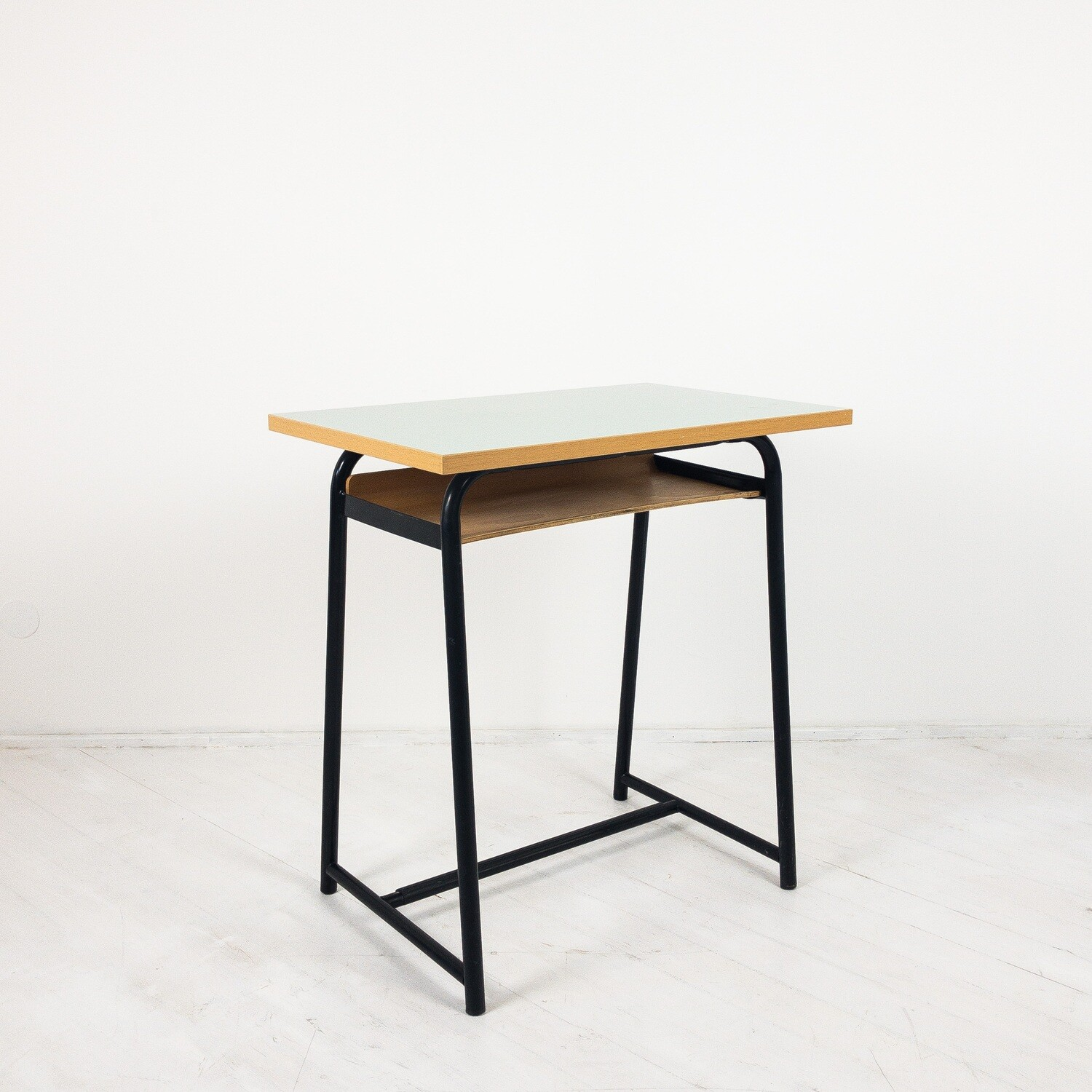 Formica school desk from the 1960s