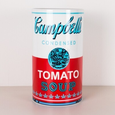Andy Warhol per Rosenthal Campbell' s Soup Vaso cilindrico