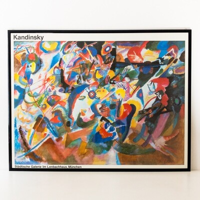 Kandinsky reproduction print