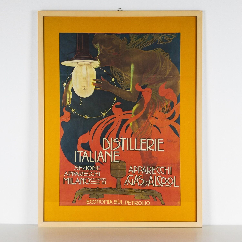 Leopoldo Metlicovitz Distillerie italiane, 1905 c.
