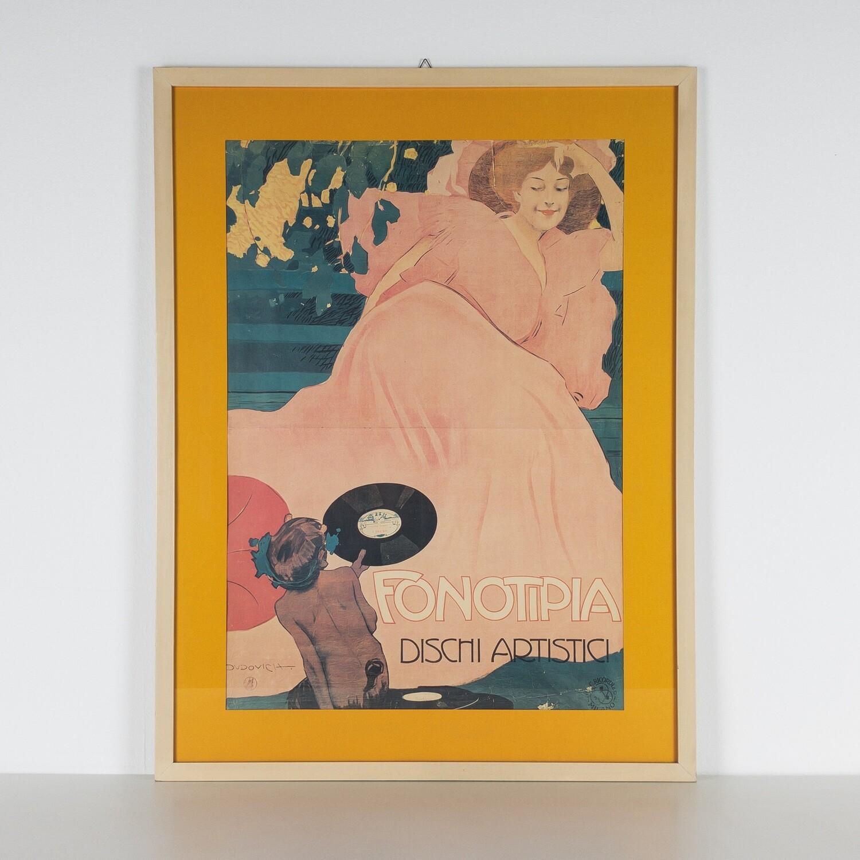Marcello Dudovich Fonotipia, Dischi artistici, 1906